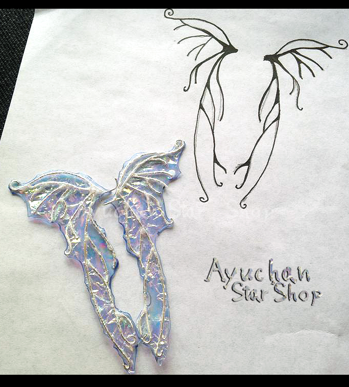 WIP Fairy Wings by AyumiDesign
