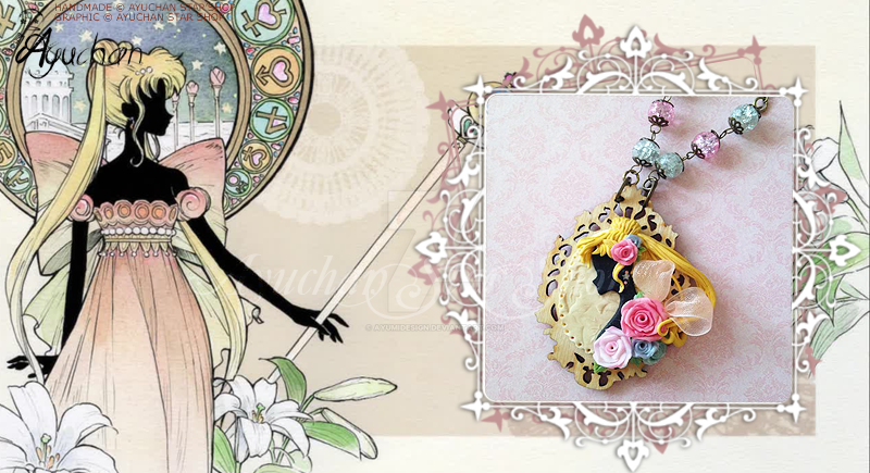 Sailor Moon Crystal - Serenity Cammeo by AyumiDesign