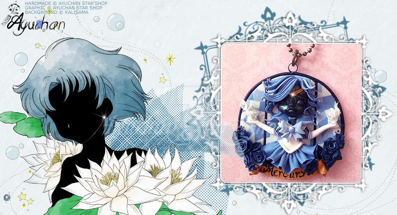 Sailor Moon Crystal - Mercury Cammeo by AyumiDesign