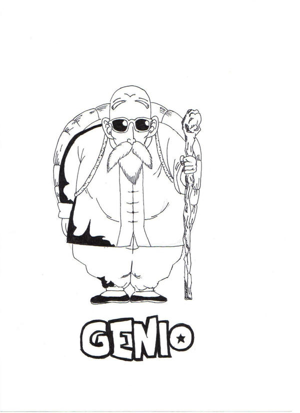 Dragon Ball Genio by AyumiDesign