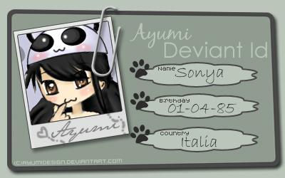 DA ID Ayupanda by AyumiDesign