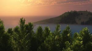 Sunset Bay by BinaryCon