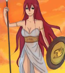 the goddess of war by guanzizai