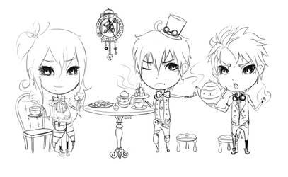 tea for three by guanzizai