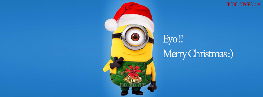 Funny Minion Merry Christmas Wallpapers Sayings: Minion-wishes-christmas-facebook-covers By Fbcoolcovers On