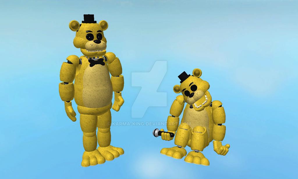 Roblox FNAF Model: Golden Freddy by Karma-King on DeviantArt