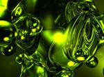 Green Meta Blob