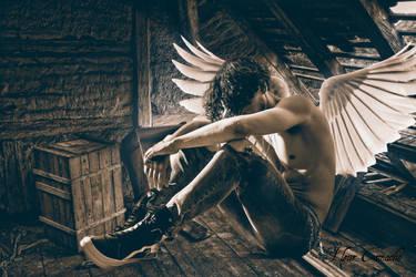 Angel Boy by FleurCamacho