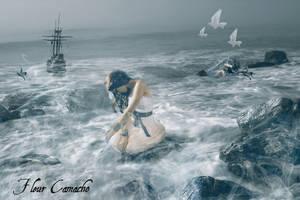 Lost at Sea by FleurCamacho
