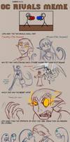 PD- Rival Meme Tim and Miyan by Beanjamish