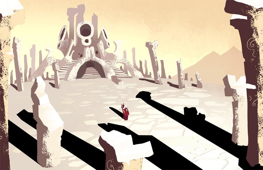 Miasmic Temple by Beanjamish