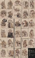 Miasmic Sketch Cards