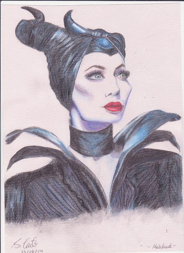 Maleficent by LittleBlueLens