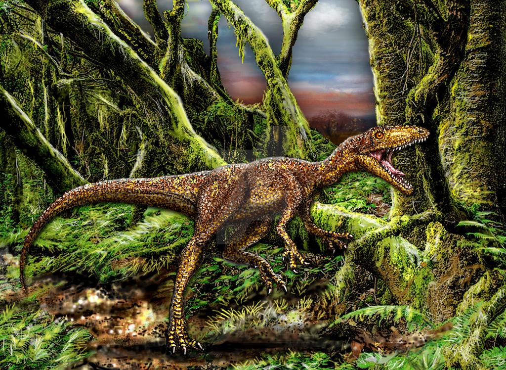 Tachiraptor admirabilis - Venezuela by dopellgersec