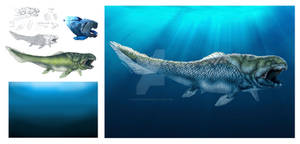 Dunkleosteus step by step