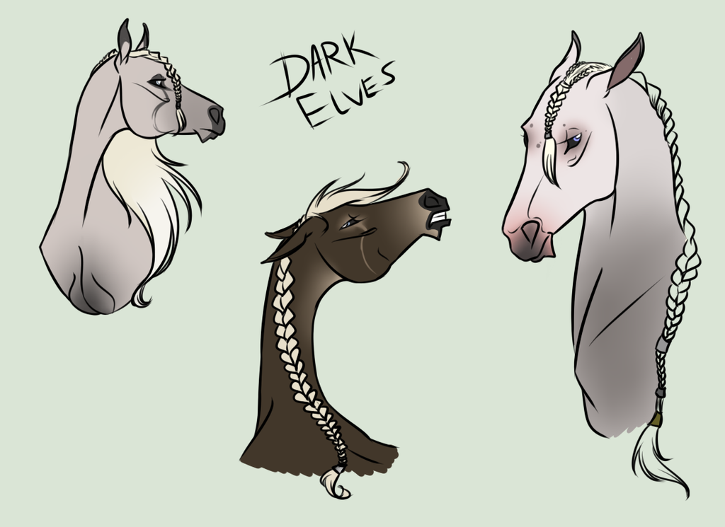 Astralheim Dark Elf Concepts by hillsveiwrider123