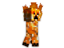 Minecraft - Fire Creeper by unusual229