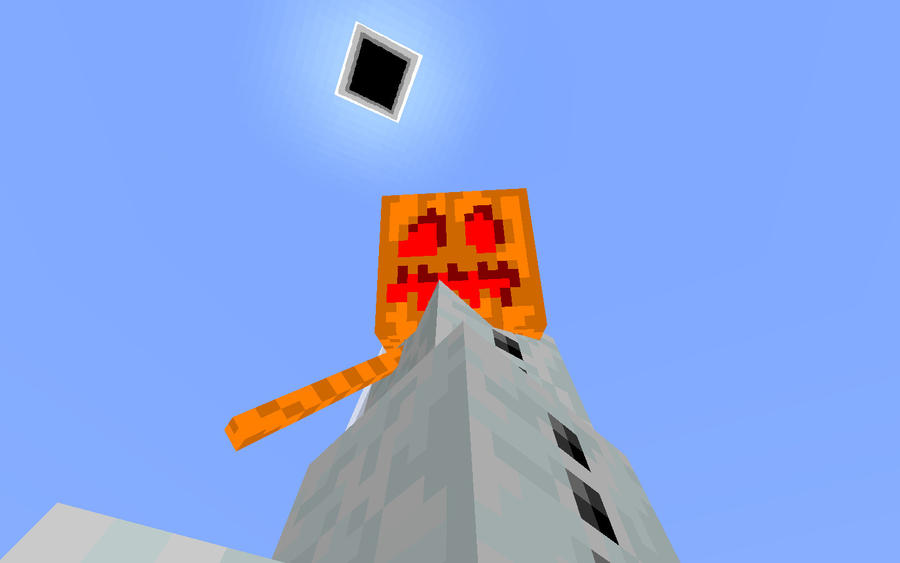 how to make a snow golem in minecraft