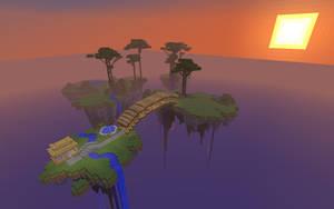 Minecraft - Floating Island Server by unusual229