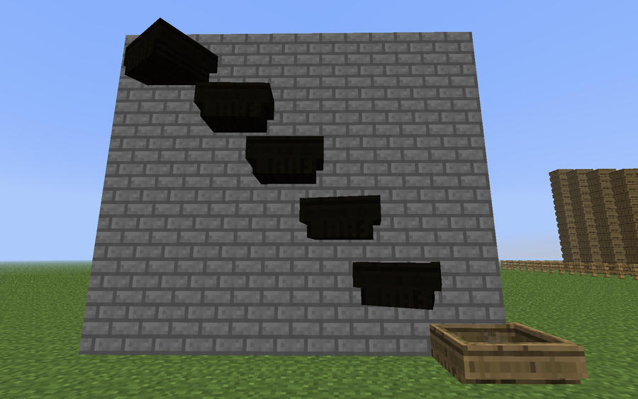 Minecraft - Boat Staircase 2 by unusual229 on DeviantArt
