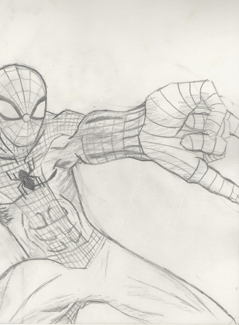 Our favourite Webslinger by DaylightSuperhero