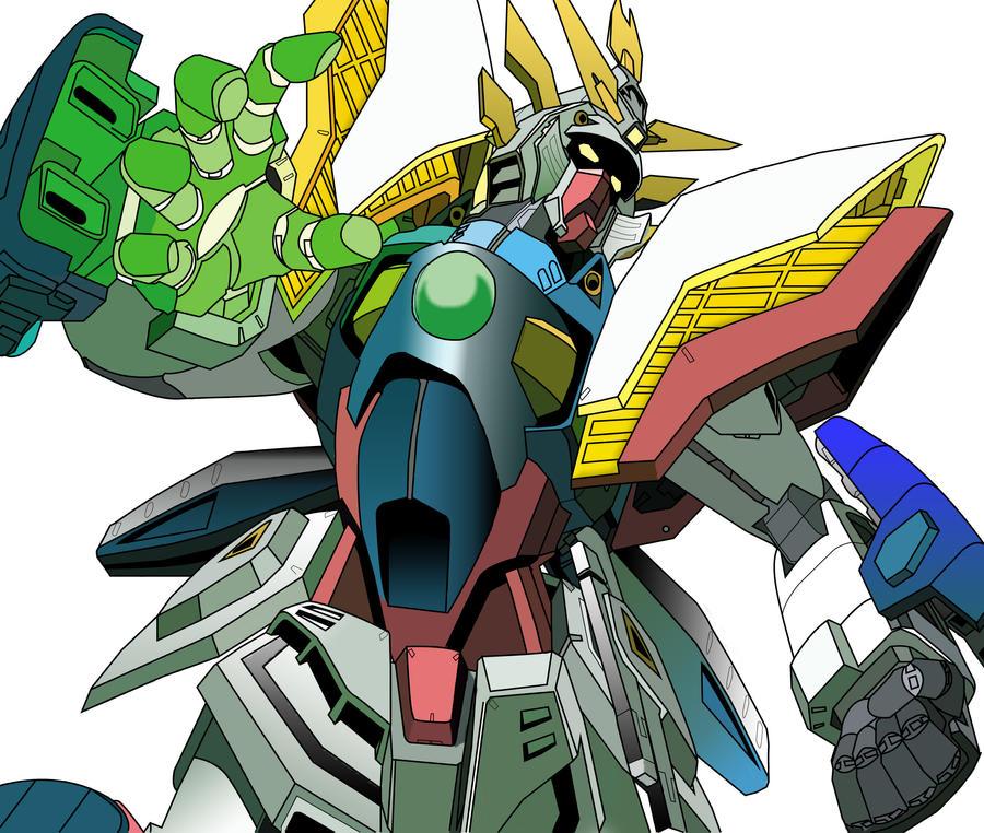 GF13-017NJ Shining Gundam by  G Gundam Shining Gundam