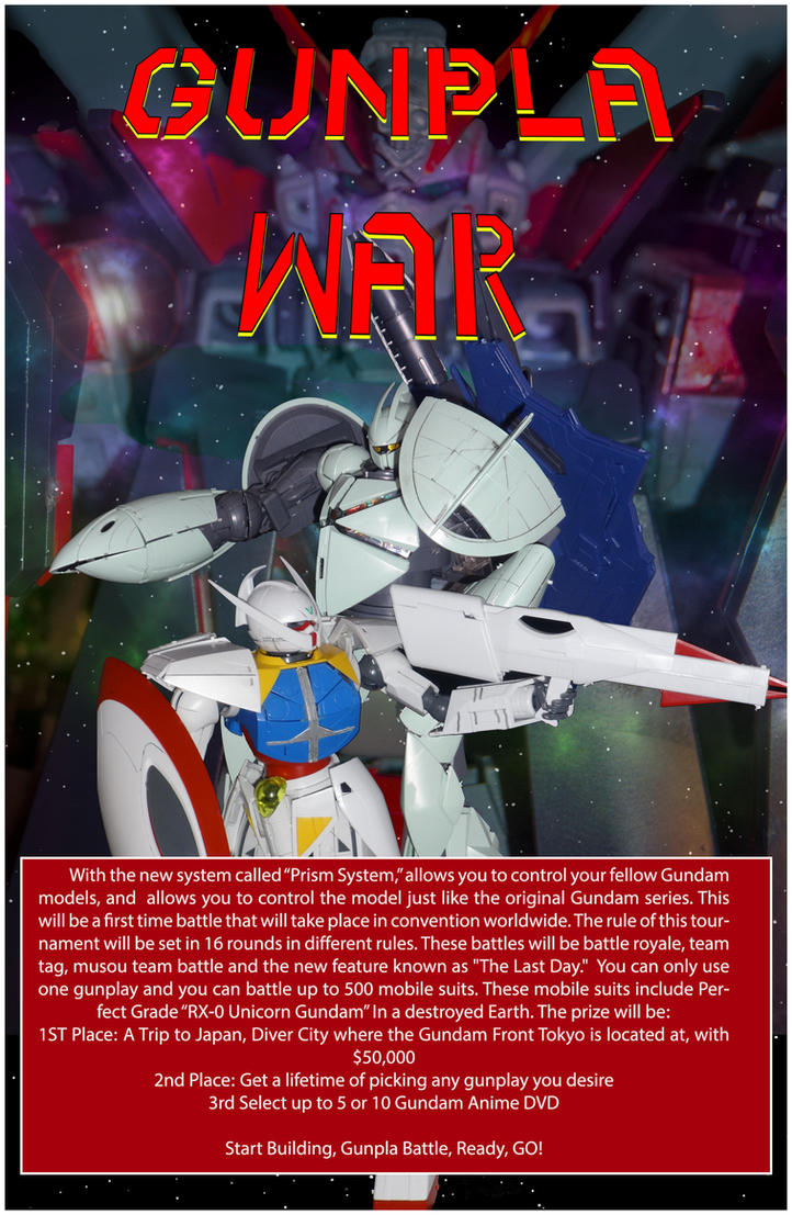 Gunpla War by Greiga