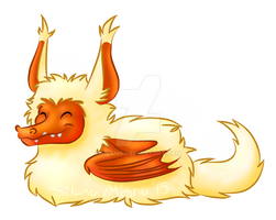 Pillow Dragon snooze