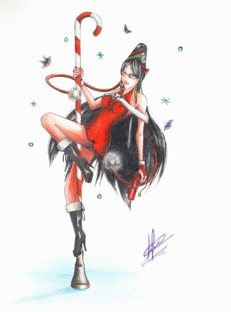 Bayonetta - Xmas Contest by Stu-Jojo on DeviantArt