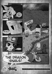 The Highest Bet VS Dragon-Snails - Bizarre Preview by Stu-Jojo