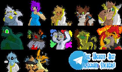 The Highest Bet's Stickers for Telegram by Stu-Jojo