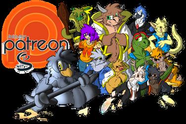 Finally on PATREON! by Stu-Jojo