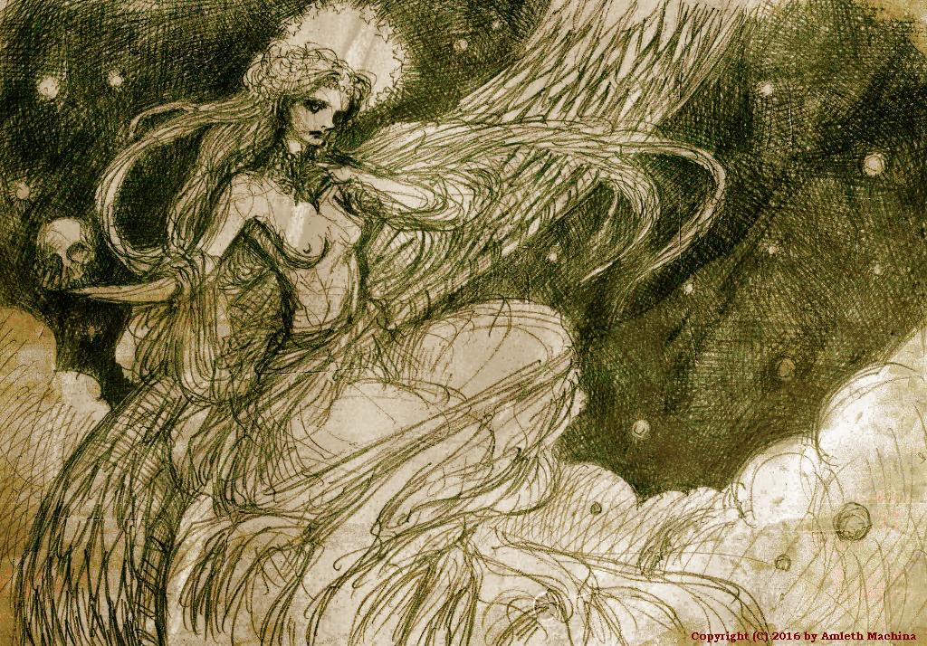 The dragon's sky by amleth-machina