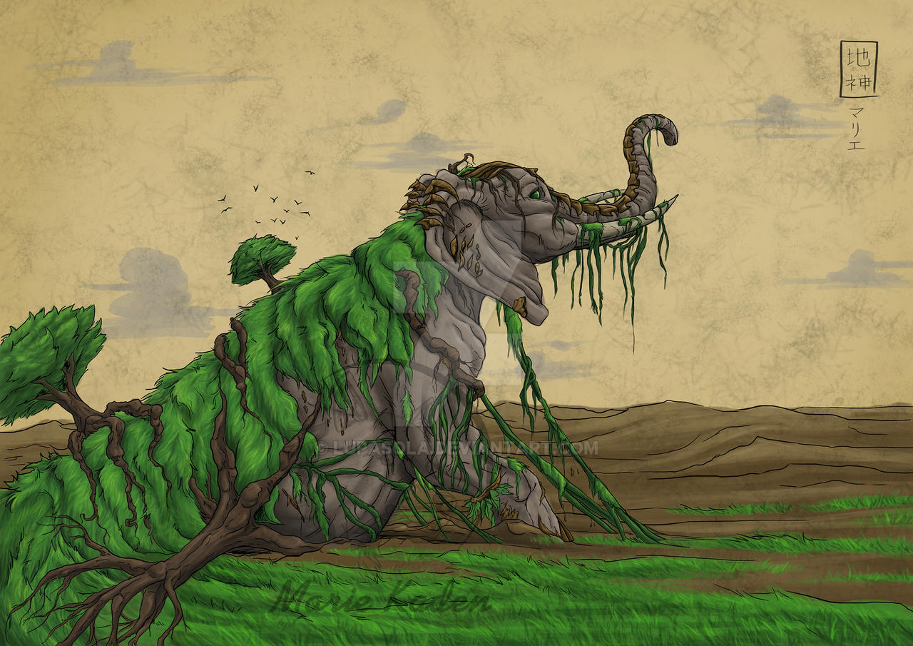 gods of nature mother earth by lupasola on deviantart