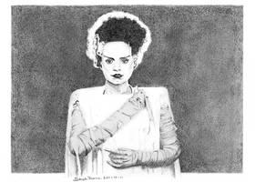 The Bride of Frankenstein by Sarah-Diane