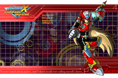 MMX: Command Mission - Zero Wallpaper by NicoleWily