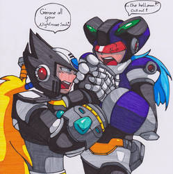 MMX6: Nightmare Soul Farming by NicoleWily
