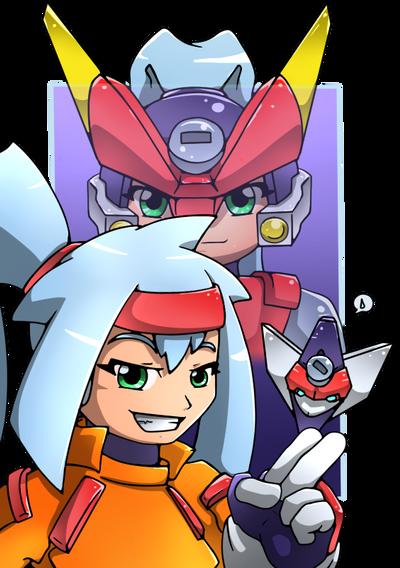Ashe, the Copy Mega Man