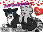 Snowclaw and KittySoftPaws :)
