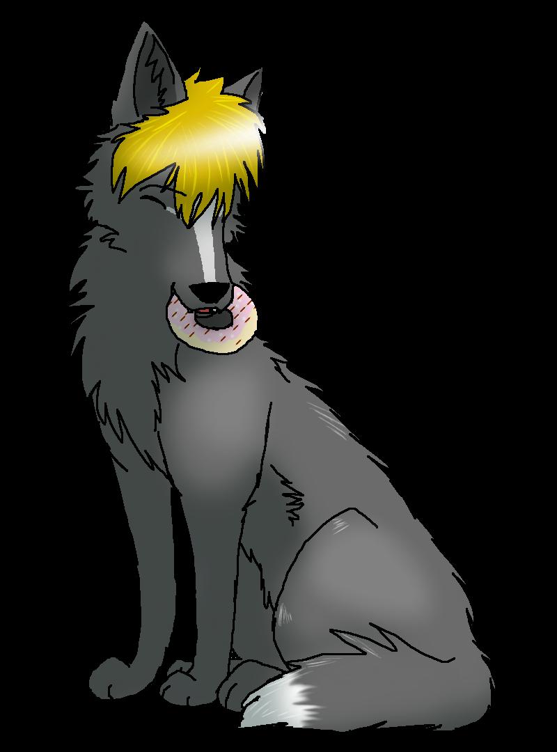 .::Donut Wolf::. by SianiiTheWolf