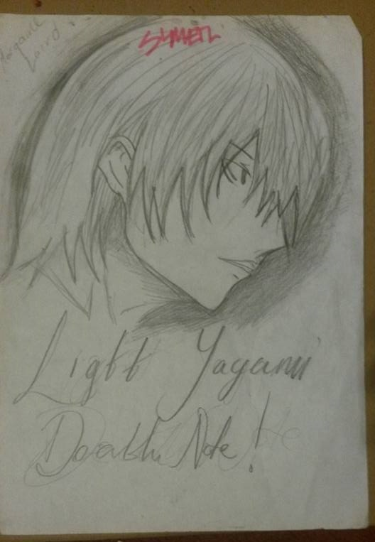 Light Yagami Death Note By Cielaird1963 On Deviantart