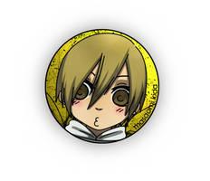 DRRR: Masaomi button.