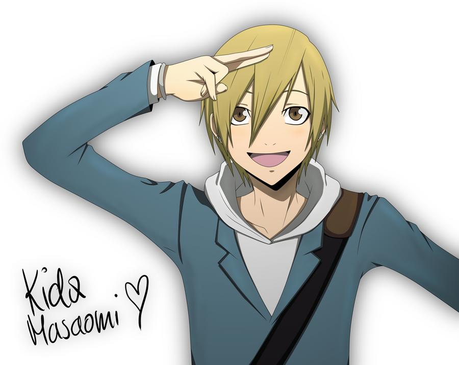 DRRR: Kida Masaomi.