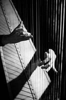Dancing on the harp by BubbleguN-oo