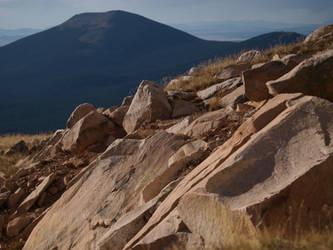 mountain hilltop rocks 1 by fotophi