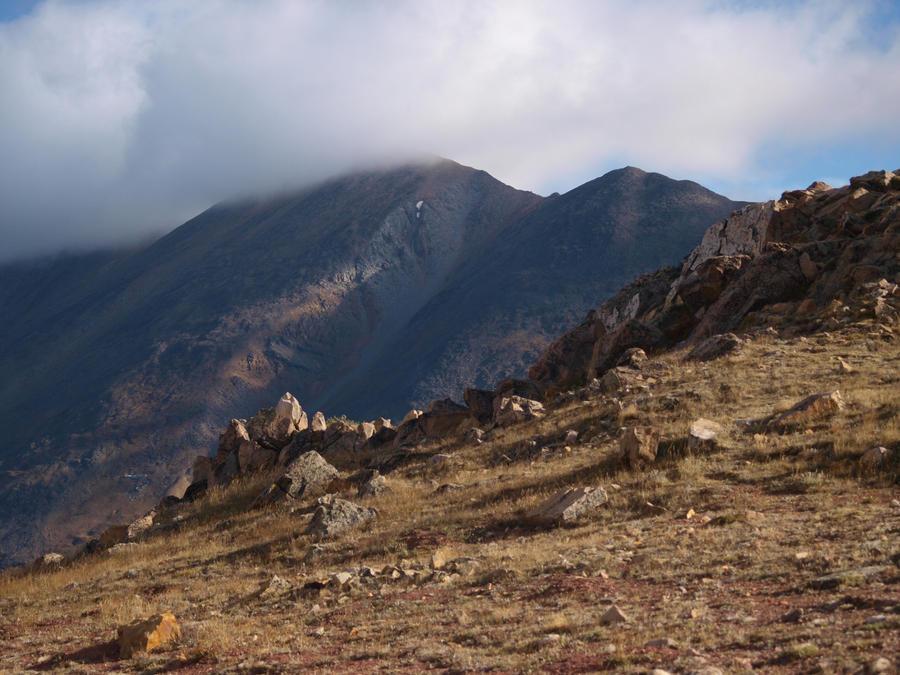 mountain hilltop rocks 5