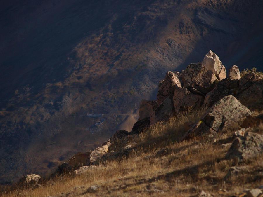 mountain hilltop rocks 6