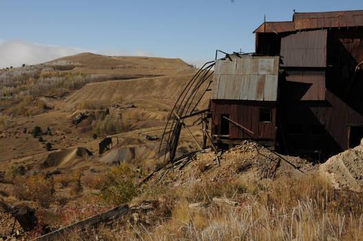 old abandoned gold mine 2
