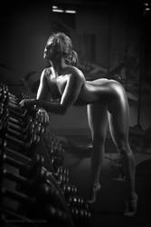 Nude fitness instructor #3 by lobur