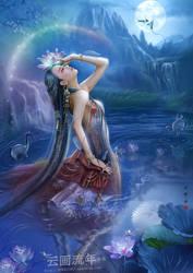 Carp fairies by hiliuyun